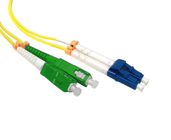 Патч Корд Оптоволоконный SC/APC-LC/UPC SM 9/125 Duplex 2.0мм 1 м