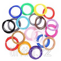 Набор 20 цветов по 10 метров, PLA пластик для 3D ручек, 200 метров, фото 2