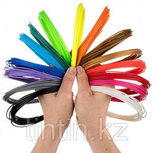 Набор 10 цветов по 10 метров, PLA пластик для 3D ручек, 100 метров