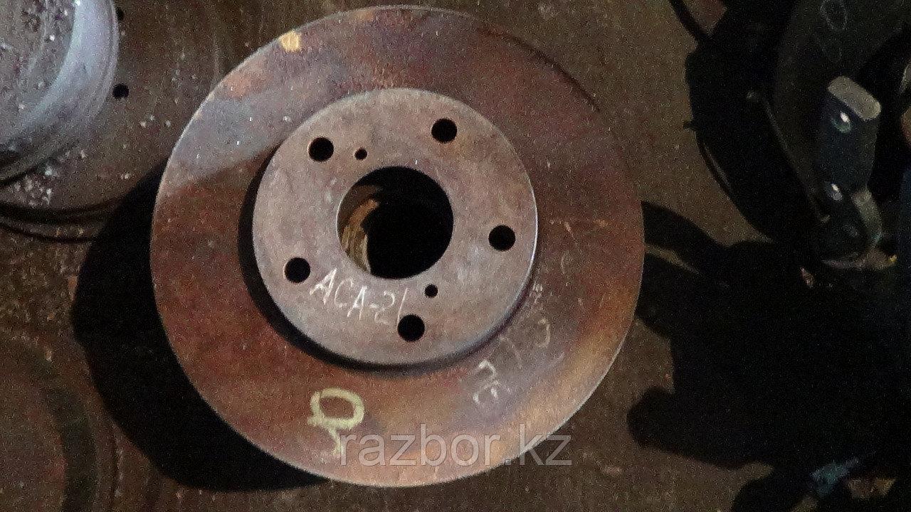 Тормозной диск Toyota RAV4 (ACA 21) передний левый/правый