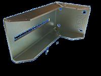 Фурнитура для откатных ворот DEA Италия -DHB 65. Кронштейн для крепления нижней ловушки
