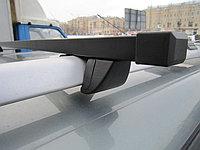 Багажник КРЕПЫШ на рейлинги c прямоугольными дугами