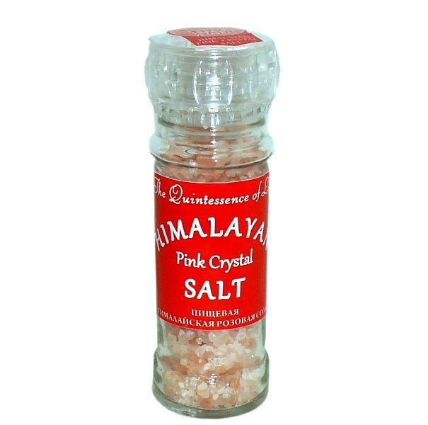 Пищевая гималайская соль РОЗОВАЯ мельничка 120 гр (Гималайская Соль)