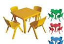 Столик пластиковый квадратный детский Рубик HD404 HUADONG, фото 2