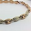 Золотой браслет - 19 размер, фото 4