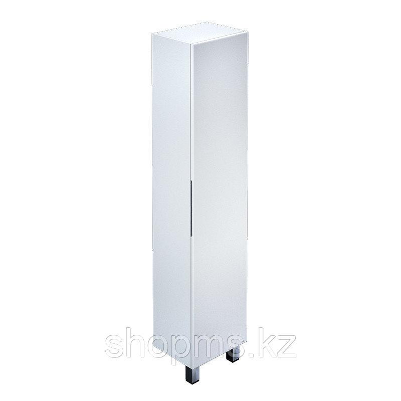 Пенал для ванной комнаты, напольный, белая, 40 см, Custo, IDDIS   ***