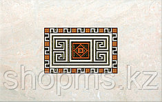 Керамическая плитка PiezaROSA Мармара декор 2 золот 343862(25*40)