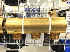 Коллектор бронз. ф25 с выходами 6 п20 с воздухоотв       *