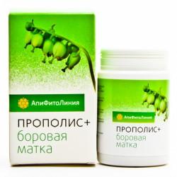 Апифитокомплекс Прополис+Боровая матка, 60таб