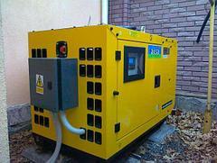 Дизельный генератор ДГУ AKSA APD12A A3CRX14 12кВА