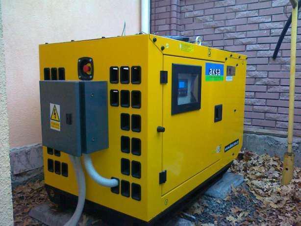 Дизельный генератор ДГУ AKSA APD12A A3CRX14 12кВА, фото 2