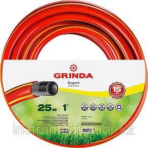 """Шланг GRINDA EXPERT поливочный, 25 атм., армированный, 3-х слойный, 1""""х25м, фото 2"""