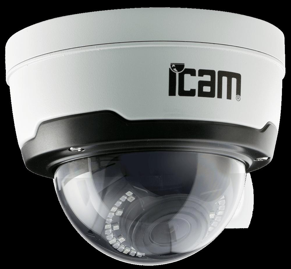 Уличная купольная IP камера ICAM VFV1 (2МП)