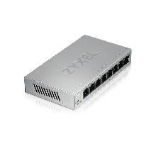 Zyxel GS1200-8 Smart коммутатор 8xGE, настольный, бесшумный, с поддержкой VLAN, IGMP, QoS и Link Aggregation