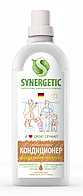 SYNERGETIC кондиционер для белья Миндальное молочко (флакон 1л)