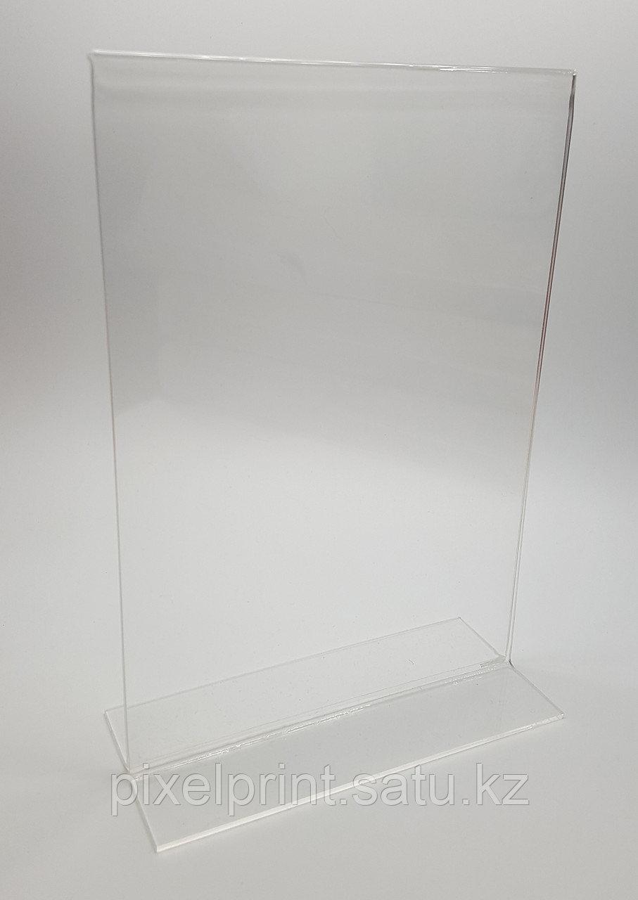 Менюхолдер вертикальный, тейбл тент А4