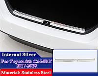 Хром накладка на внутр.часть багажника Camry V70 (хром)
