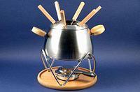 1940 GIPFEL Набор для приготовления фондю SIRONA 11 пр. (стальная кастрюля)