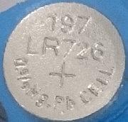Батарея   Трофи G2 (396) 1.5V