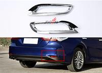 Хром накладка в задние катафоты бампера Camry V70, фото 1