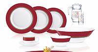 Столовый сервиз Luminarc Alto Rubis 46 предметов на 6 персон