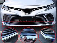 Хром накладка на губу Camry V70, фото 1