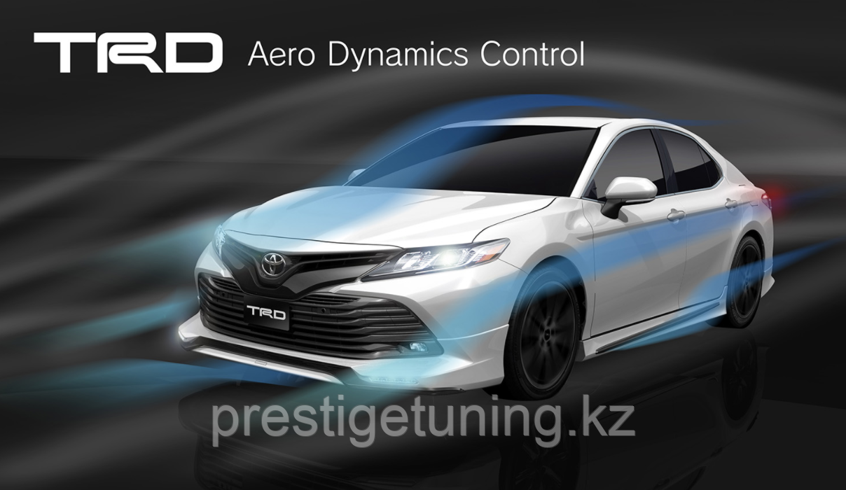 Обвес TRD на Toyota Camry V70