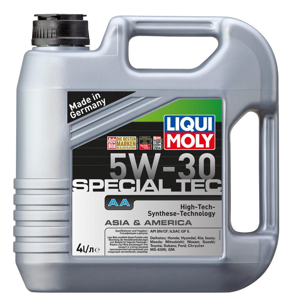 Mоторное масло Liqui Moly Special Tec AA 5W30 4L