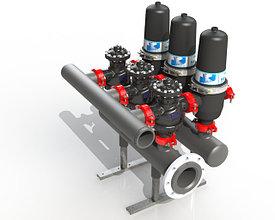 Самопромывные дисковые фильтры механической очистки воды AWT
