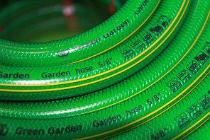 """Поливочный ПВХ шланг """"Палисад"""" d 25/25m. Производство -Иран. """"Green Garden"""""""