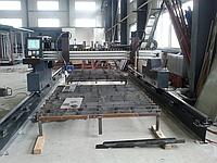 Станок газово-плазменной резки с ЧПУ 3000*6000мм мостового типа для резки металла, фото 1