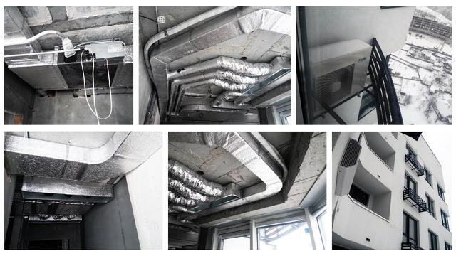 Оборудование систем вентиляции для жилых домов