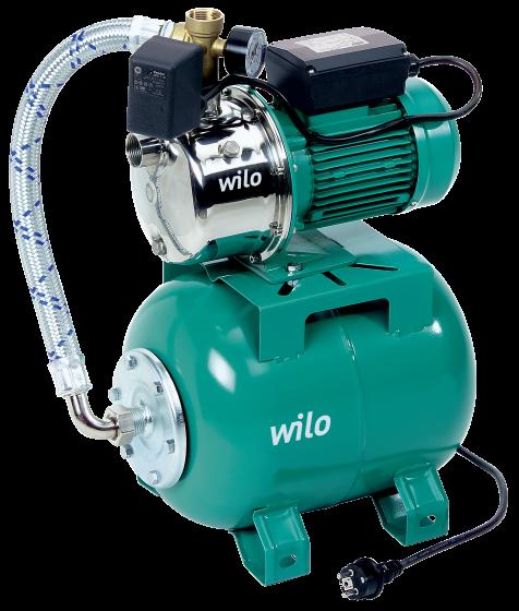 Автоматическая насосная установка Wilo-Jet HWJ 202 20L