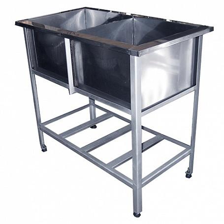Ванна моечная СТАНДАРТ ОК ВМО2-700СОК 1500х800 мм
