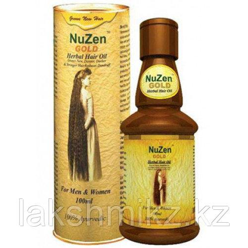 Лечебное травяное масло для роста волос NuZen Gold Herbal Hair Oil