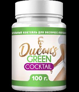 Зелёный коктейль Дюкана – напиток для похудения