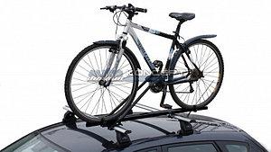 Велокрепление для перевозки 1-го велосипеда на крыше Автомобиля