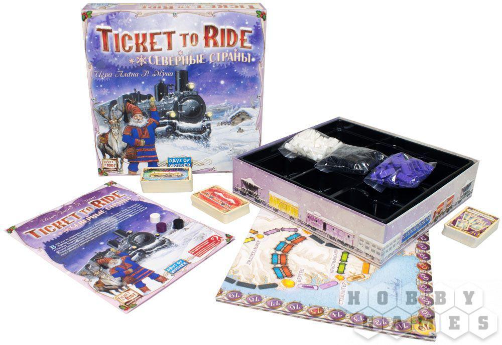 Настольная игра: Ticket to Ride: Северные страны