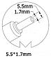 Блок питания для ноутбука Acer, 19V 4.74A, 90W, 5.5x1.7 mm, фото 2