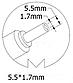 Блок питания для ноутбука Acer, 19V 3.42A, 65W, 5.5x1.7 mm, фото 3