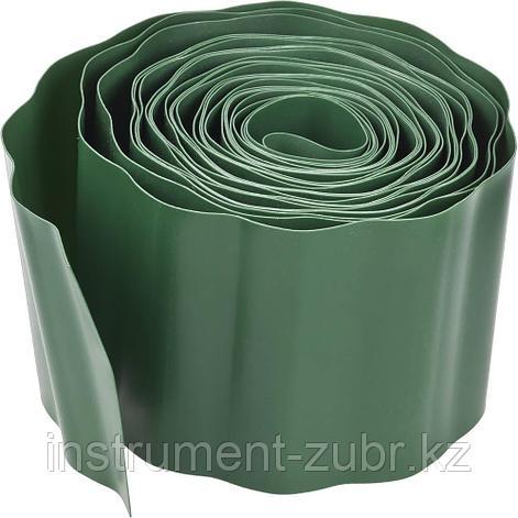 Лента бордюрная Grinda, цвет зеленый, 15см х 9 м, фото 2