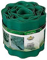 Лента бордюрная RACO, цвет зеленый, 10см х 9 м