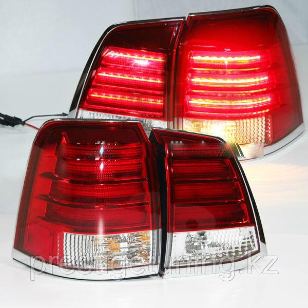 """Задняя светодиодная оптика """"Оригинальный цвет"""" для Toyota Land Cruiser 200"""