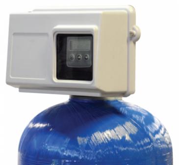 """Блок управления. на умягченение с электронным водосчетчиком 1 1/2"""" Fleck v2850/1710SXT Eco NBP, фото 2"""