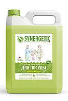 SYNERGETIC для мытья посуды, детских игрушек Яблоко (канистра 5л)