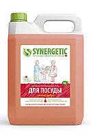 SYNERGETIC для мытья посуды, детских игрушек Арбуз (канистра 5л)