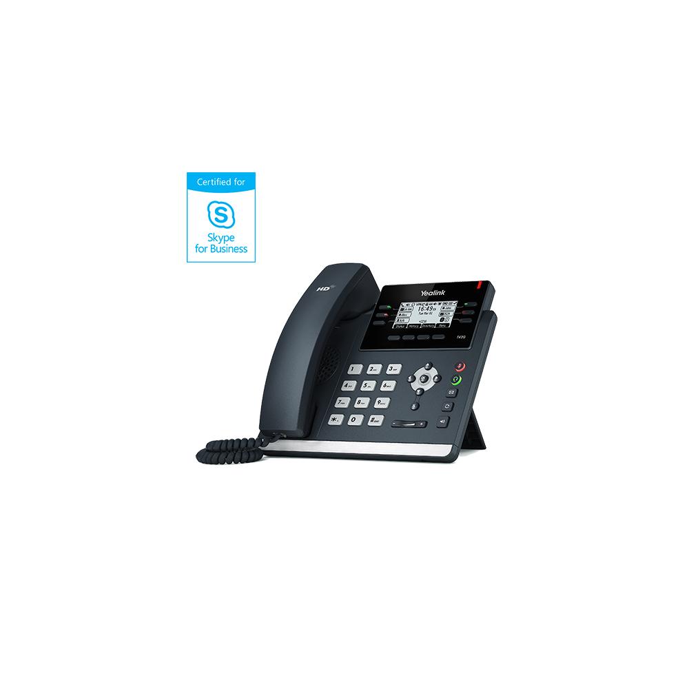 IP телефон Yealink SIP-T42S Skype for Business Edition