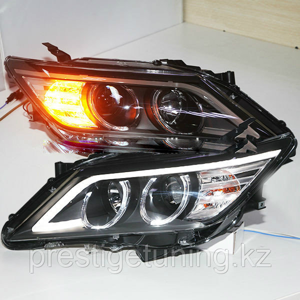 Фары Toyota Camry V50 Angel Eyes