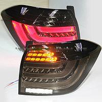 Задние фары в стиле BMW BLACK 2011-2013