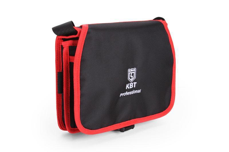 Миниатюрная сумка монтажника с поясным ремнем, серия «ПРОФИ» ™КВТ
